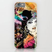 iPhone & iPod Case featuring Colorful Nature by Irmak Akcadogan