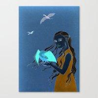 Daenerys Targaryen GoT Canvas Print