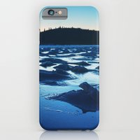 iPhone & iPod Case featuring Peaks of Ice in Twilight by Shaun Lowe