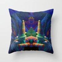 Sea Creature #2: The Shy… Throw Pillow