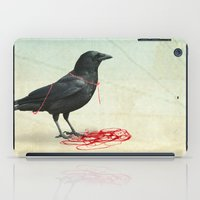 freedom  _ black crow iPad Case