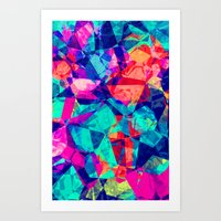 Crazy Colors - For Iphon… Art Print