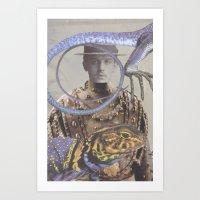Salvaged Relatives (07) Art Print