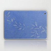 Blue Ivy Vine Laptop & iPad Skin