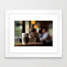 Starbucks Coffee Cup Framed Art Print