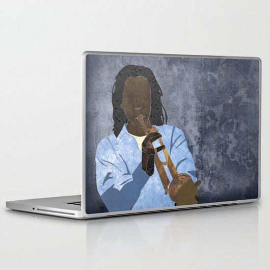 Trumpet player Laptop & iPad Skin