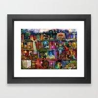 Whimsy Trove - Treasure … Framed Art Print