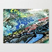Graffiti is Art Canvas Print