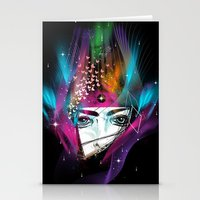 Femina Nebulae Stationery Cards