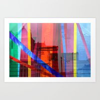 Distortion 3 Art Print