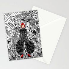 Bowie Fashion 6 Stationery Cards
