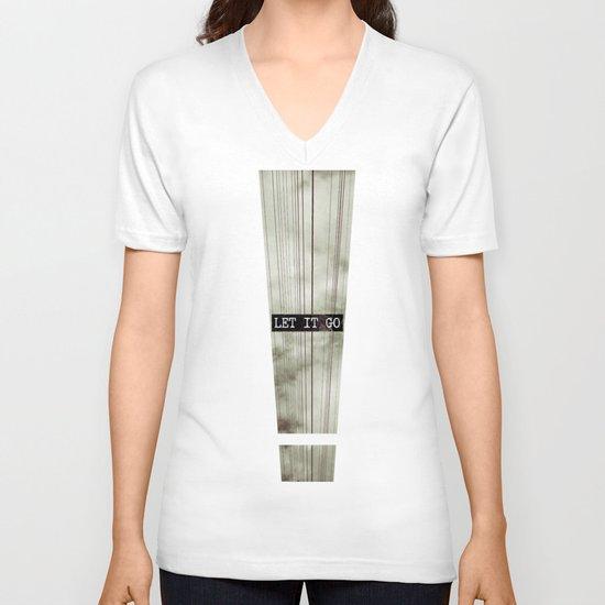 Let It Go V-neck T-shirt