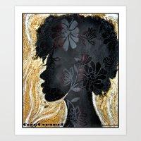 Coco Caramel Art Print