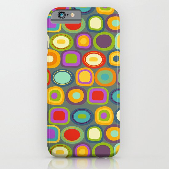 Multicolored Dots iPhone & iPod Case