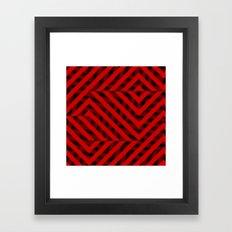 Devil Geometry Framed Art Print