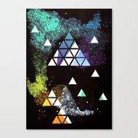 Spaceangles Canvas Print