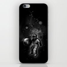 Deep Sea Space Diver iPhone & iPod Skin