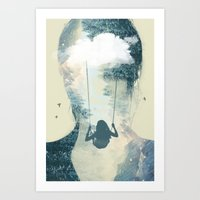 weightless Art Print