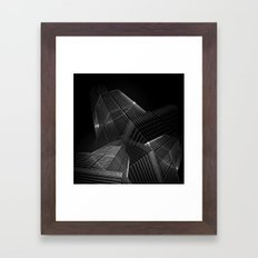 the black building theory - part one Framed Art Print