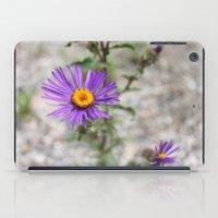 Purple Wild Flower iPad Case
