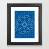 Project Midgar Framed Art Print