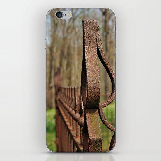 Rusted Wrought Iron.... iPhone & iPod Skin