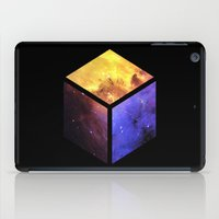 Nebula Cube - Black iPad Case