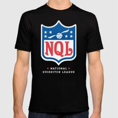 NQL Black Mens Fitted Tee SMALL