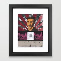 Collage #4 Framed Art Print