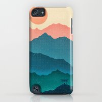 iPod Touch Cases featuring Meditating Samurai by Braunbach