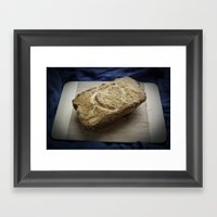 Love Bread Framed Art Print