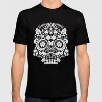 Original Day Of The Dead… Mens Fitted Tee Black SMALL
