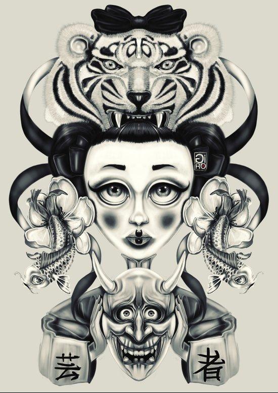 """""""Tattoeums VIII"""" Art Print"""