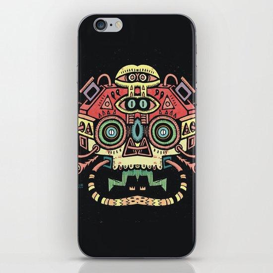Lanceur de rêves - Alien tribe iPhone & iPod Skin