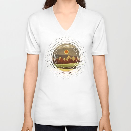 Textures/Abstract 134 V-neck T-shirt