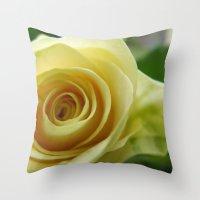 Yellow Roses #12 Throw Pillow