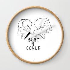Hart & Cohle 2012 Wall Clock