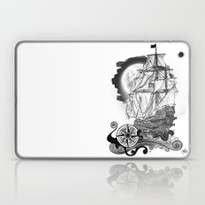 The sea route to the moon Laptop & iPad Skin
