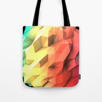 Tote Bag featuring Atmosphere by Msimioni