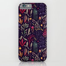 Botanical pattern Slim Case iPhone 6s