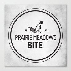 Prairie Meadows Site Canvas Print