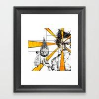 Living Lover Lounges/Com… Framed Art Print