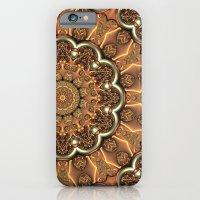 Molten Copper Mandala iPhone 6 Slim Case