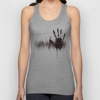 White Noise Unisex Tank Top
