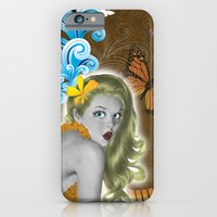 iPhone & iPod Case featuring Pinup by Sarah Churchill