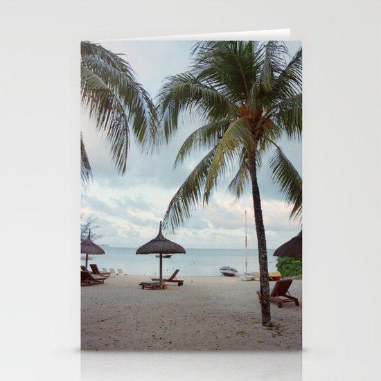 Sunrise in Mauritius II Stationery Card