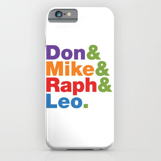 Don & Mike & Raph & Leo. iPhone & iPod Case