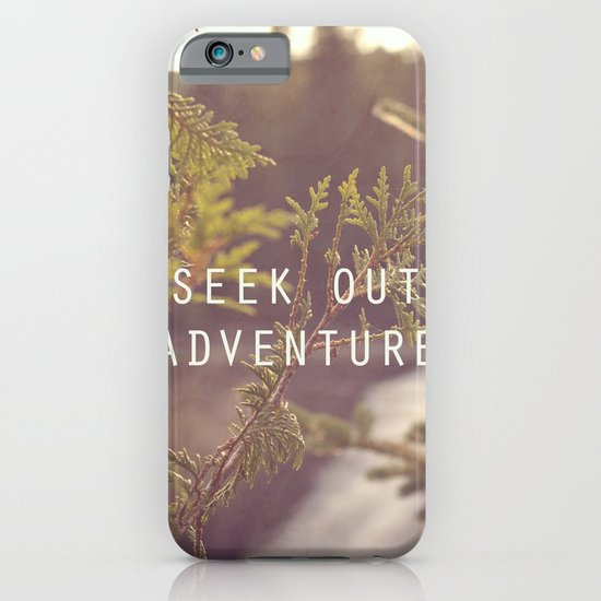 seek out adventure. iPhone & iPod Case