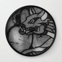 Garuda Dog Wall Clock