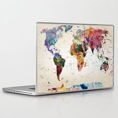 map Laptop & iPad Skin